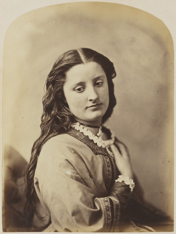 Unknown young woman, by Oscar Gustav Rejlander, 1860-1866 - NPG P2011(13) - © National Portrait Gallery, London