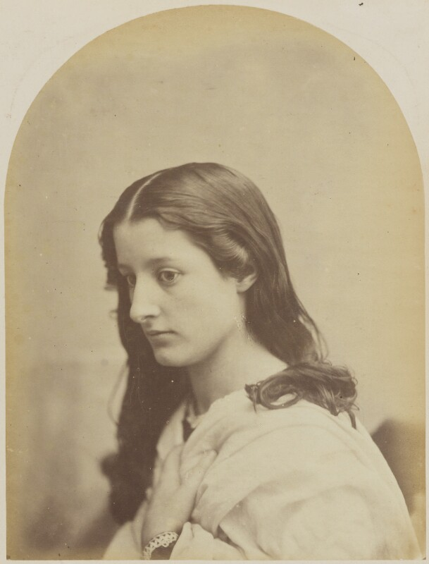 Unknown young woman, by Oscar Gustav Rejlander, 1860-1866 - NPG P2011(14) - © National Portrait Gallery, London