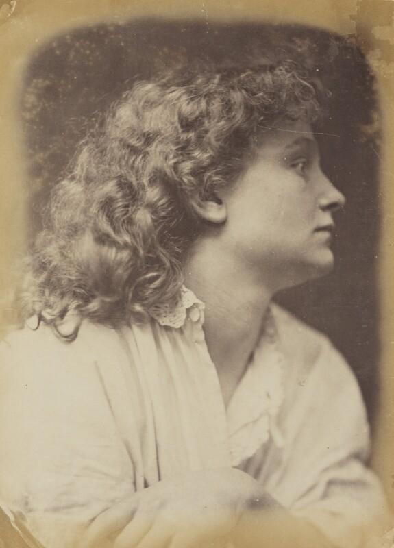 Unknown woman, by Oscar Gustav Rejlander, 1860-1866 - NPG P2011(17) - © National Portrait Gallery, London