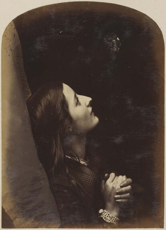 Unknown young woman, by Oscar Gustav Rejlander, 1860-1866 - NPG P2011(29) - © National Portrait Gallery, London
