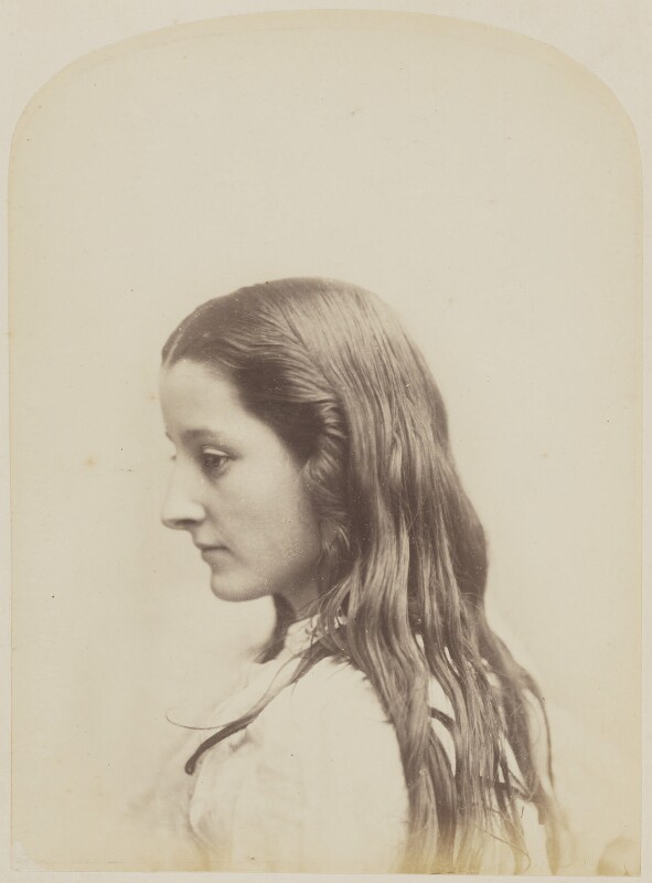 Unknown young woman, by Oscar Gustav Rejlander, 1860-1866 - NPG P2011(32) - © National Portrait Gallery, London