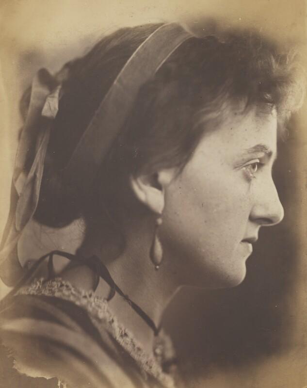 Unknown woman, by Oscar Gustav Rejlander, 1860-1866 - NPG P2011(35) - © National Portrait Gallery, London
