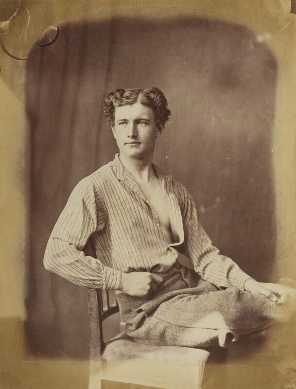 Unknown man, by Oscar Gustav Rejlander, 1860-1866 - NPG P2011(38) - © National Portrait Gallery, London