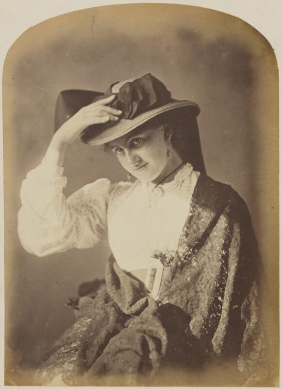 'The Top o' the Mornin' to Ye!' (Unknown woman), by Oscar Gustav Rejlander, 1860-1866 - NPG P2011(42) - © National Portrait Gallery, London