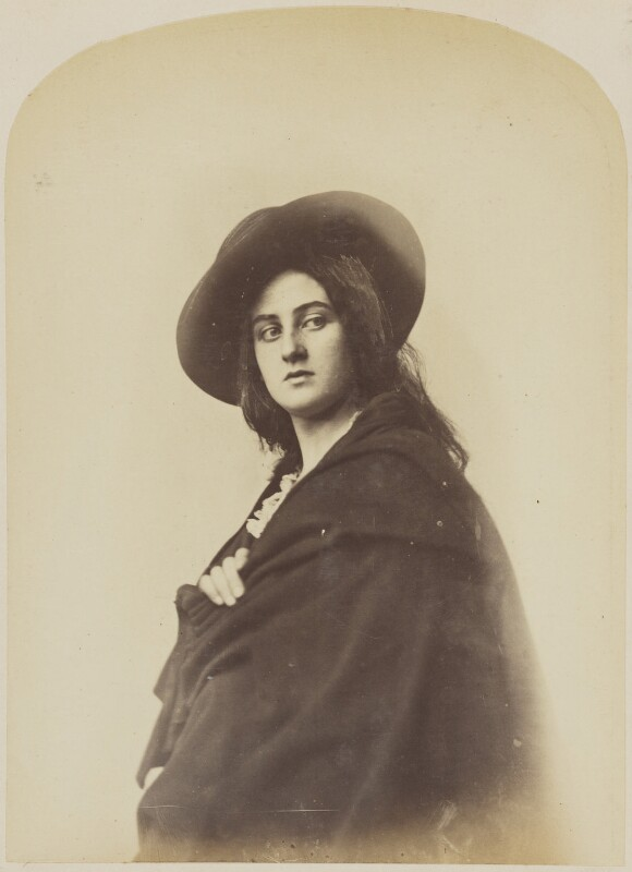 Unknown woman, by Oscar Gustav Rejlander, 1860-1866 - NPG P2011(44) - © National Portrait Gallery, London