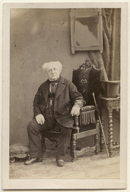Robert Keeley, by Camille Silvy, 1859 - NPG x196205 - © National Portrait Gallery, London