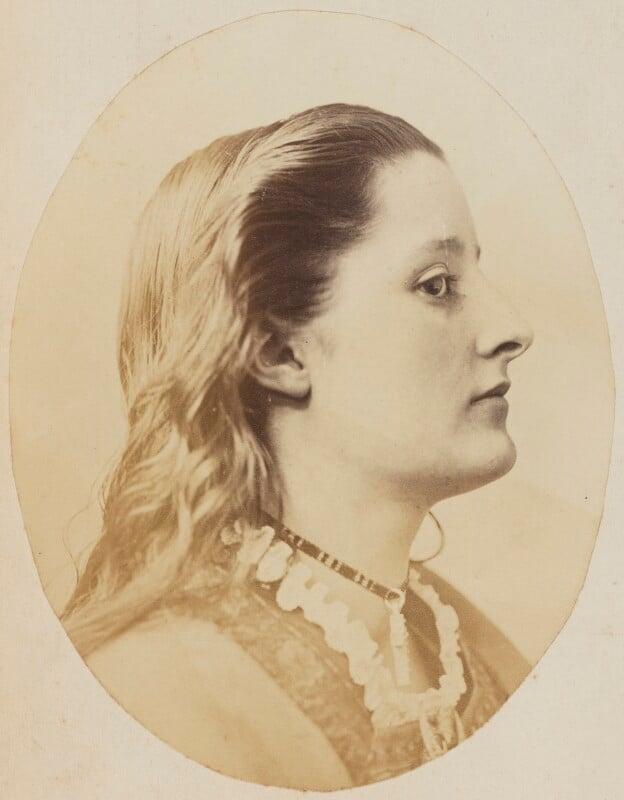 Unknown young woman, by Oscar Gustav Rejlander, 1860-1866 - NPG P2011(52b) - © National Portrait Gallery, London