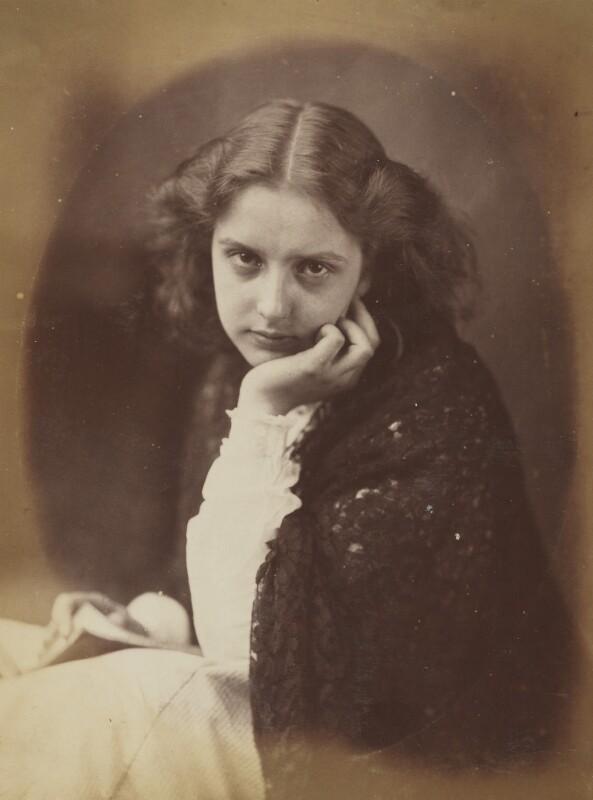 'Is it true?' (Unknown young woman), by Oscar Gustav Rejlander, 1860-1866 - NPG P2011(56) - © National Portrait Gallery, London