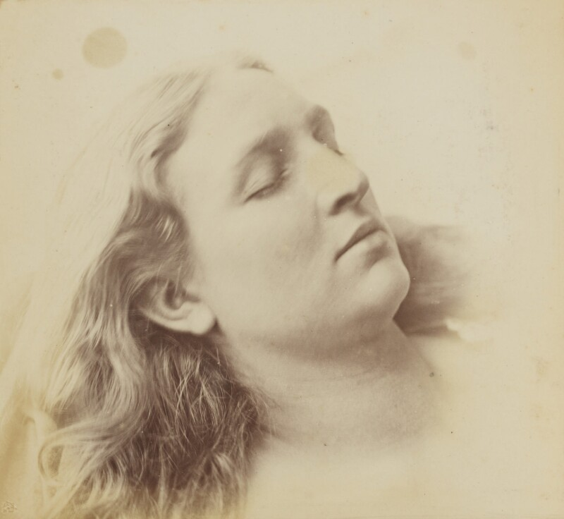 'Sleep' (Mary Rejlander (née Bull)), by Oscar Gustav Rejlander, circa 1855 - NPG P2011(63) - © National Portrait Gallery, London