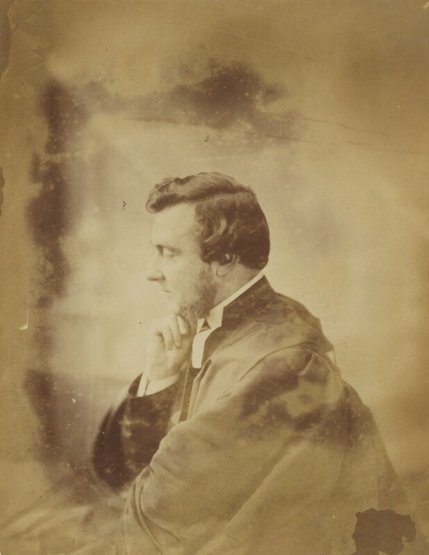 Unknown man, by Oscar Gustav Rejlander, circa 1857 - NPG P2011(69) - © National Portrait Gallery, London