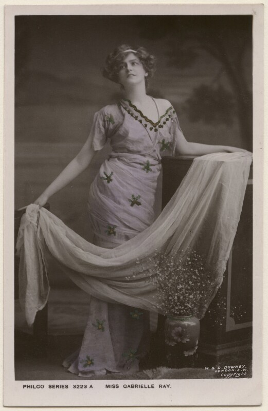 Gabrielle Ray, by W. & D. Downey, published by  The Philco Publishing Co, 1905 - NPG x196336 - © National Portrait Gallery, London