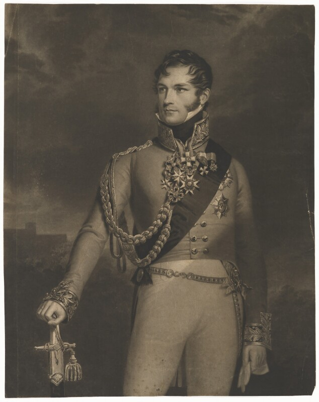 Leopold I, King of the Belgians, by Henry Edward Dawe, after  George Dawe, circa 1817 - NPG D45791 - © National Portrait Gallery, London
