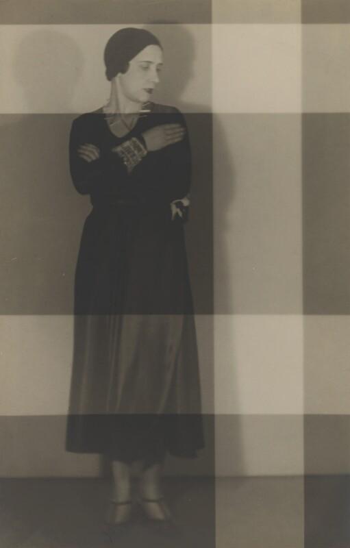 Elsa Schiaparelli, by Man Ray, circa 1930 - NPG P2019 - © Man Ray Trust/ADAGP, Paris and DACS, London 2018
