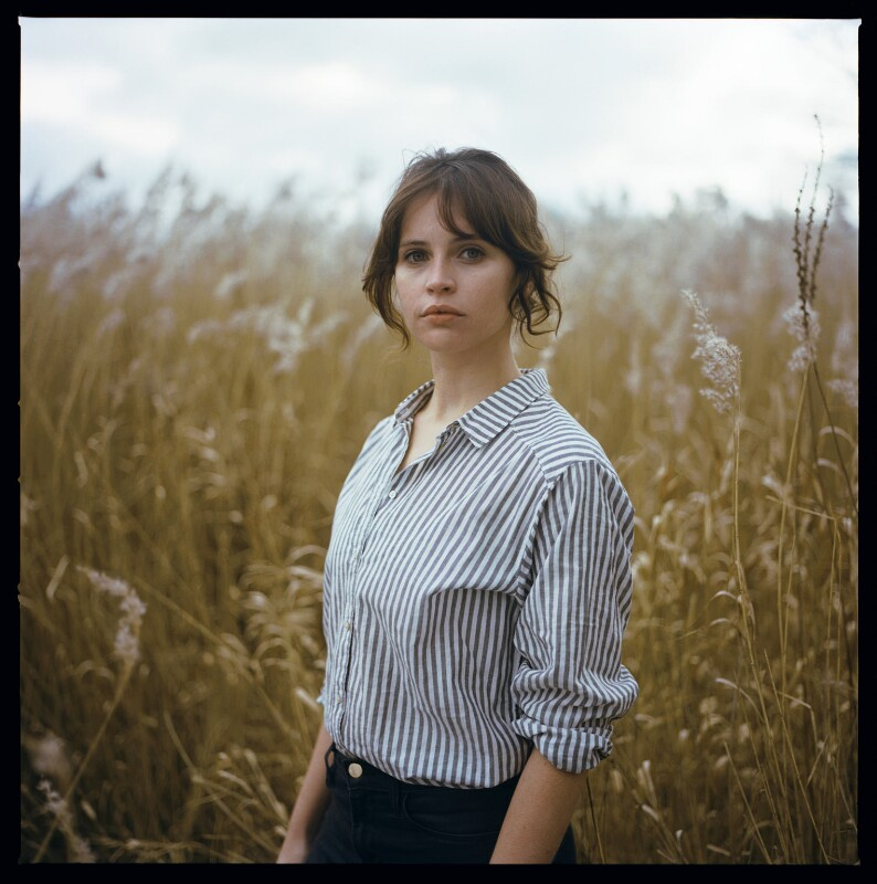 Felicity Jones by Laura Pannack © National Portrait Gallery