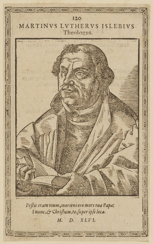 Martin Luther, after Lucas Cranach the Elder, 1546 - NPG D47379 - © National Portrait Gallery, London