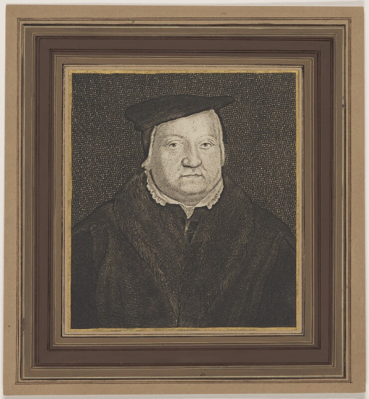 Called Martin Luther; possibly Gaspar Schets, by Wenceslaus Hollar, mid 17th century - NPG D47384 - © National Portrait Gallery, London