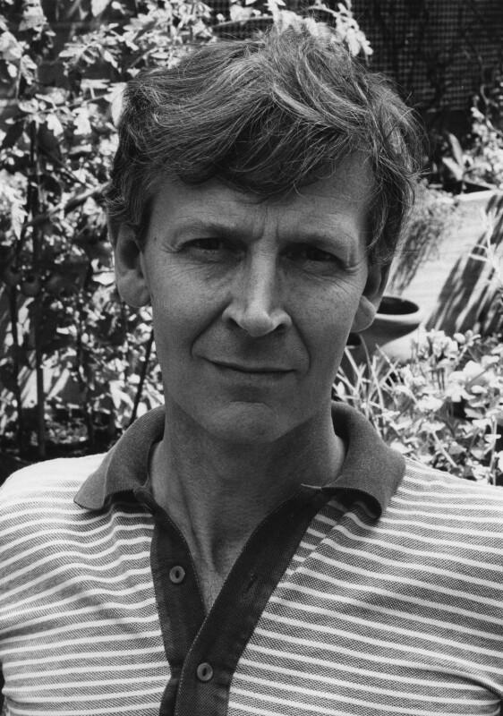 Michael James Andrews, by Harry Diamond, 18 August 1975 - NPG x210008 - © National Portrait Gallery, London