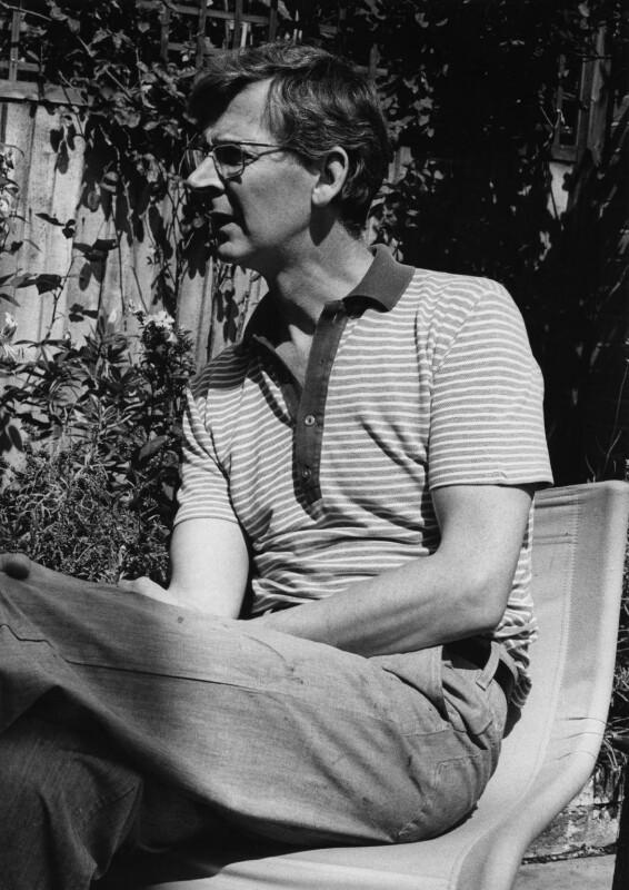 Michael James Andrews, by Harry Diamond, 18 August 1975 - NPG x210011 - © National Portrait Gallery, London