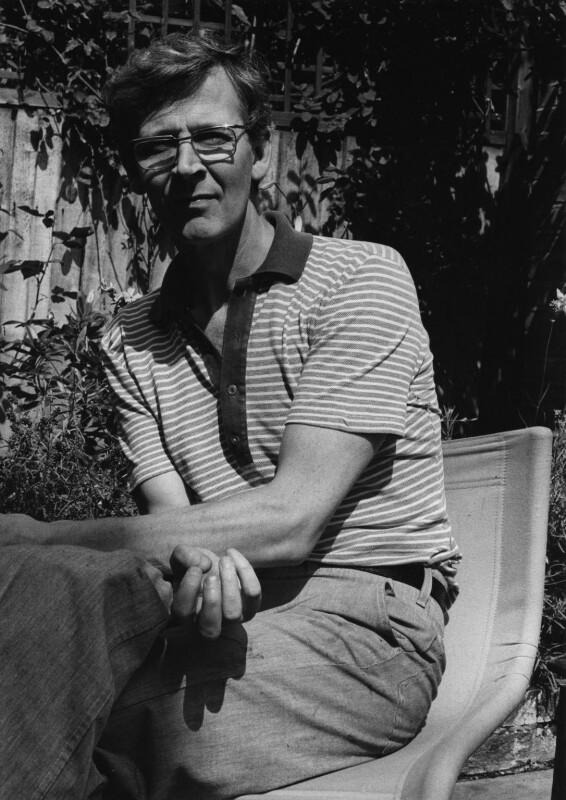 Michael James Andrews, by Harry Diamond, 18 August 1975 - NPG x210013 - © National Portrait Gallery, London