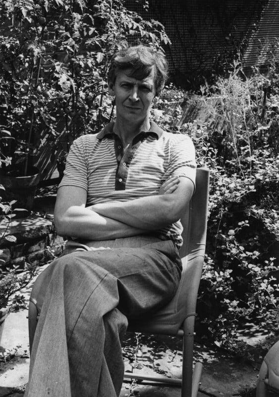 Michael James Andrews, by Harry Diamond, 18 August 1975 - NPG x210016 - © National Portrait Gallery, London