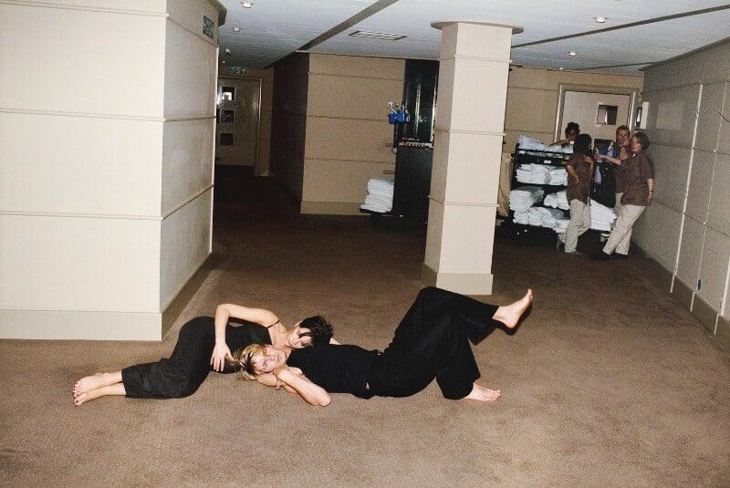 David and Victoria, Manchester 1998, No.3 (Victoria Beckham; David Beckham), by Juergen Teller, 1998 - NPG x199693 - © Juergen Teller
