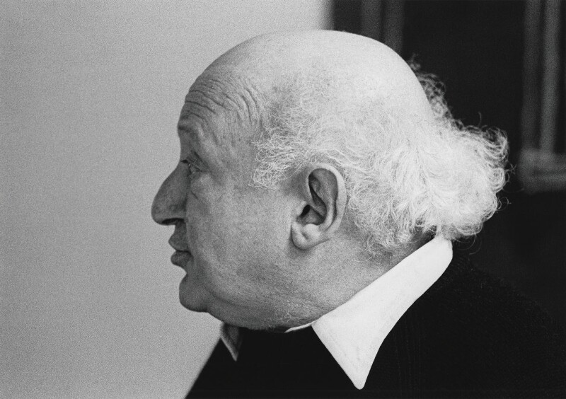 Walter Segal, by John Walmsley, 1975 - NPG x199706 - © John Walmsley