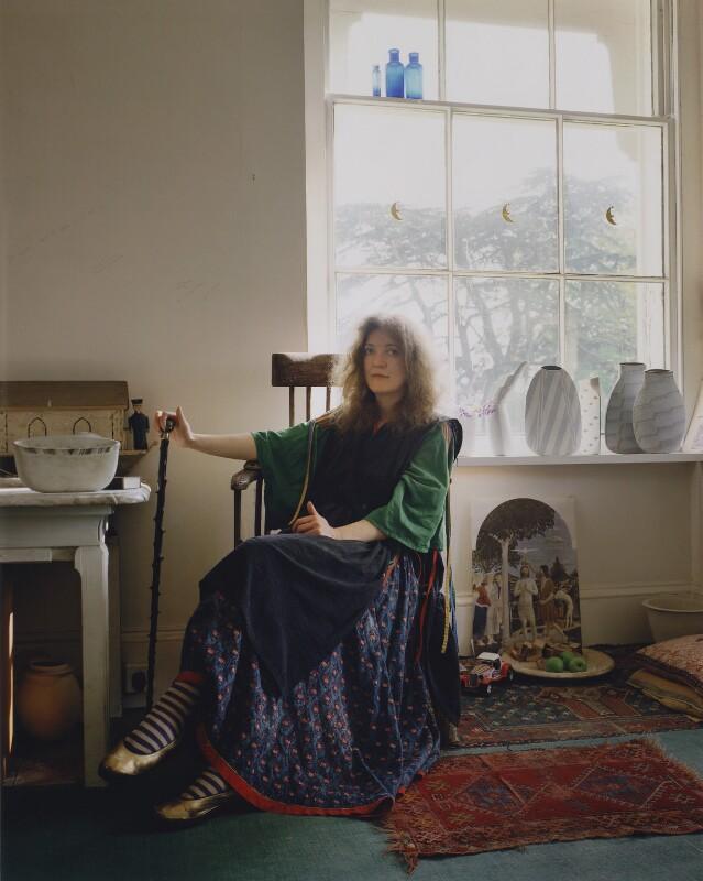 Elizabeth Fritsch, by David Cripps, 1978 - NPG x199732 - © David Cripps/ DACS, 2019