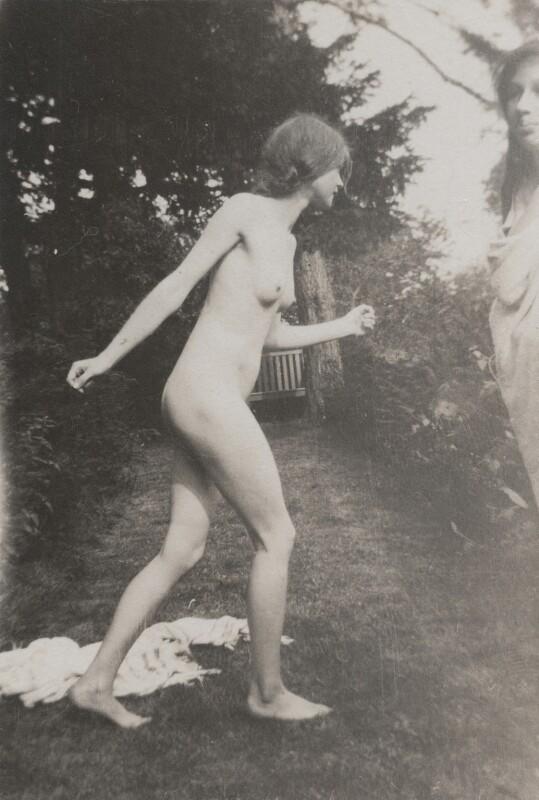 Juliette (née Baillot), Lady Huxley, by Lady Ottoline Morrell, 1917 - NPG x144312 - © National Portrait Gallery, London