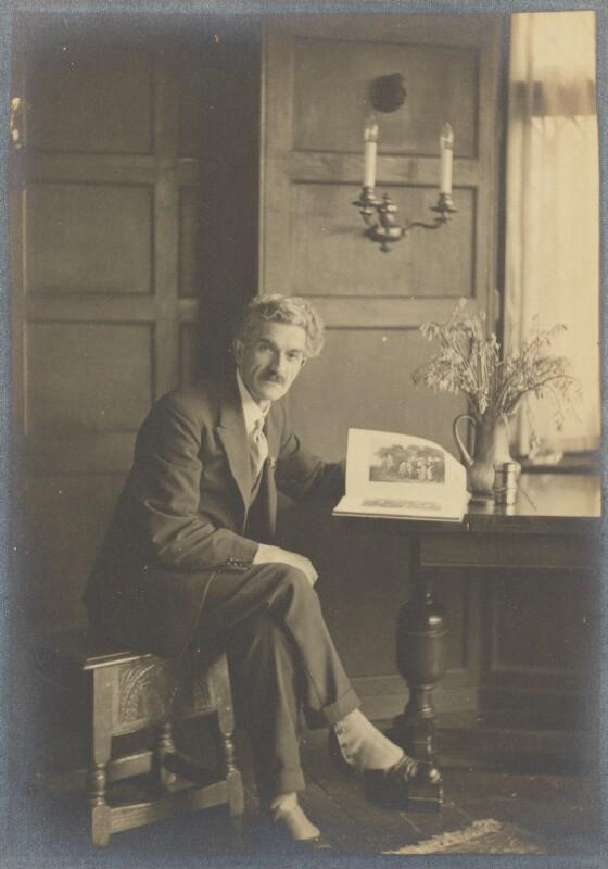 Marcus Adams, by Herbert Lambert, May 1925 - NPG Ax199835 - © National Portrait Gallery, London