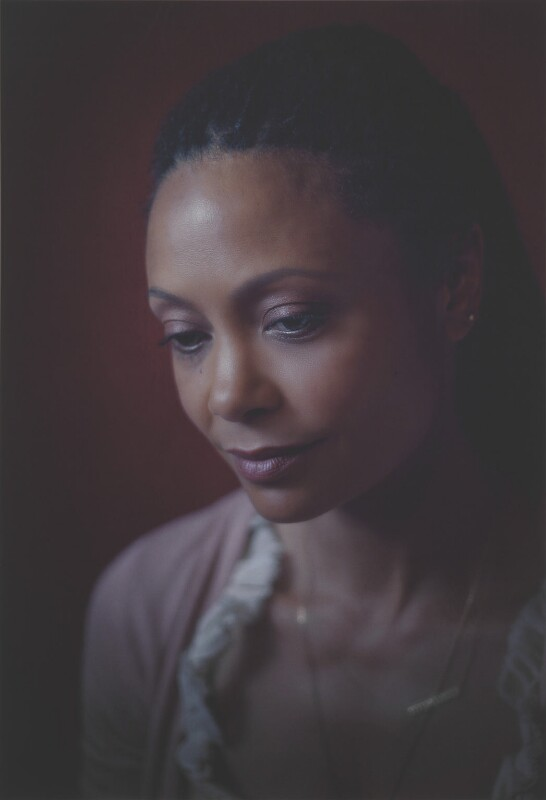 Thandie Newton, from the series Black is the New Black by Simon Frederick, © Simon Frederick / National Portrait Gallery