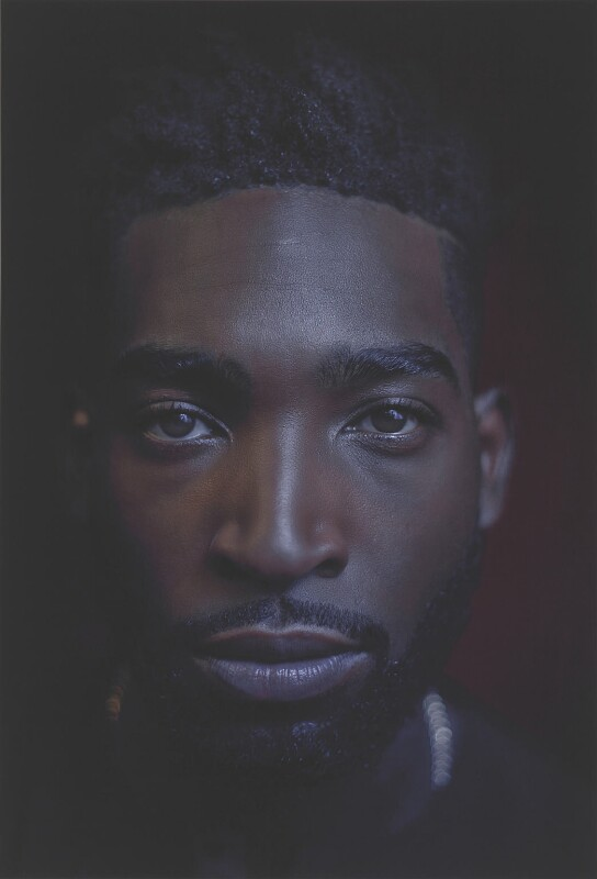Tinie Tempah, by Simon Frederick, 2016 - NPG P2045 - © Simon Frederick / National Portrait Gallery