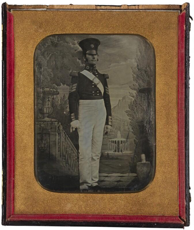 'Soldier', by Antoine Claudet, 1842-1844 - NPG x199971 - © National Portrait Gallery, London
