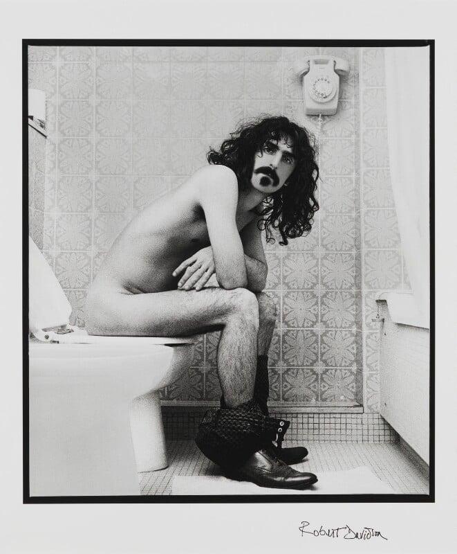 Frank Zappa, by Robert Davidson, August 1967 - NPG x199973 - © Robert Davidson