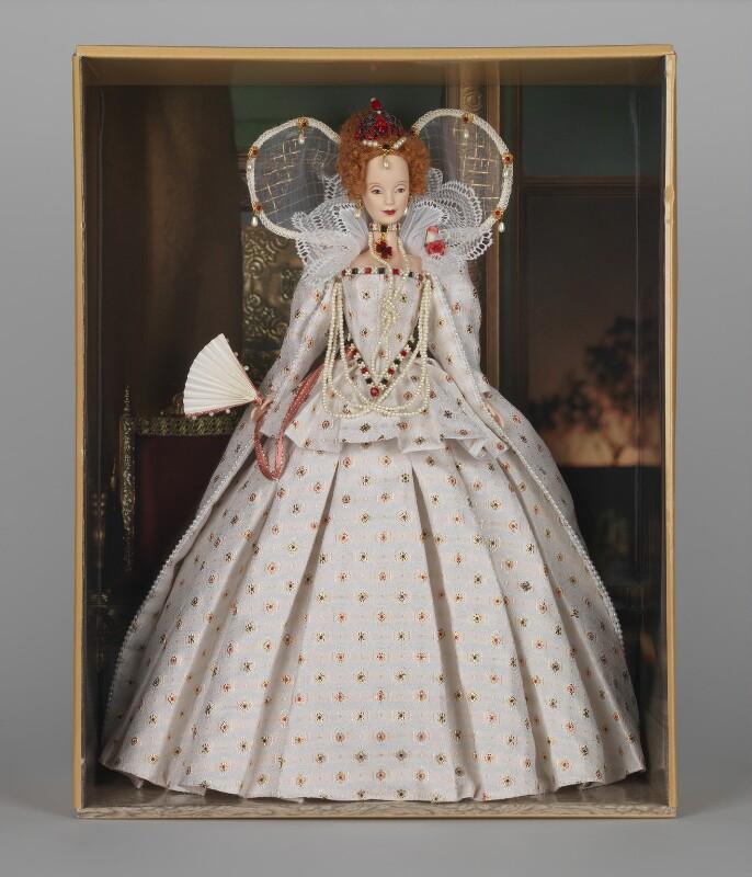 Queen Elizabeth I, manufactured by Mattel Inc, 2004 - NPG D48092 - © National Portrait Gallery, London