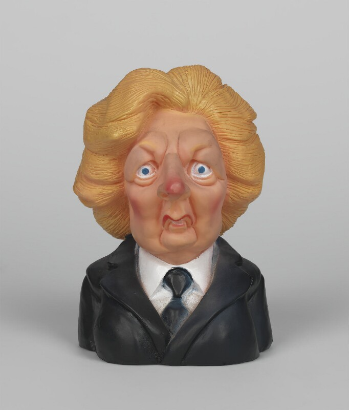 Margaret Thatcher, by Spitting Images Productions Ltd, 1985 - NPG D48094 - © National Portrait Gallery, London