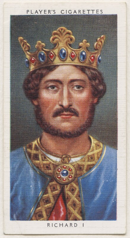 NPG D48116; King Richard I ('the Lionheart') - Portrait - National Portrait  Gallery