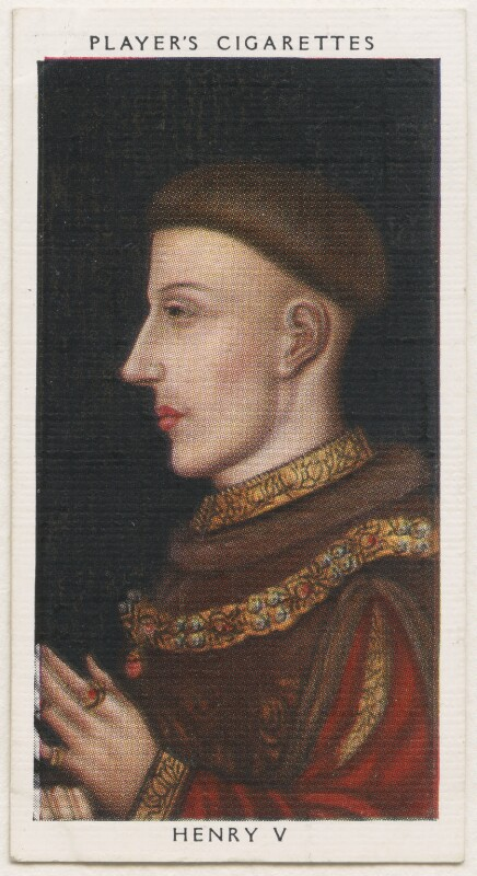 King Henry V, published by John Player & Sons, after  Unknown artist, 1935 - NPG D48124 -