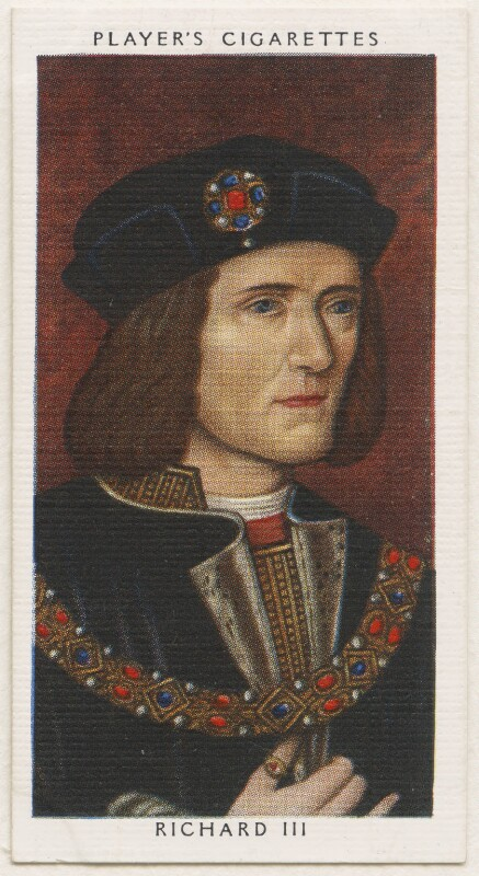 King Richard III, published by John Player & Sons, after  Unknown artist, 1935 - NPG D48128 - © National Portrait Gallery, London