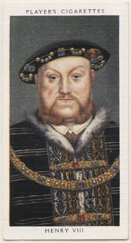 King Henry VIII, published by John Player & Sons, after  Unknown artist, 1935 - NPG D48131 - © National Portrait Gallery, London