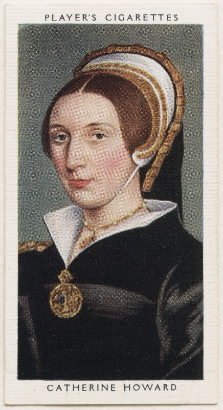 Unknown woman, formerly known as Catherine Howard, published by John Player & Sons, after  Hans Holbein the Younger, 1935 - NPG D48134 - © National Portrait Gallery, London