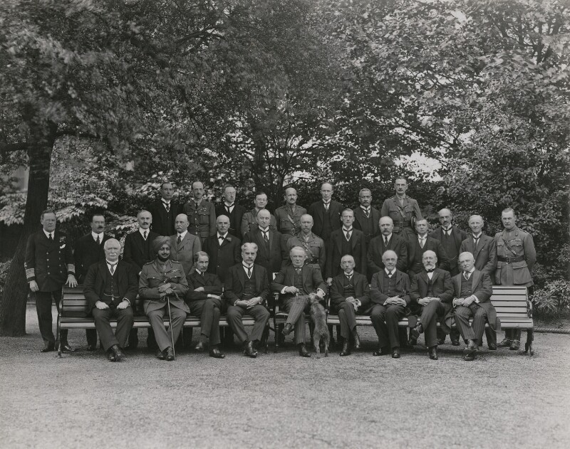 The Imperial War Cabinet, by Vandyk, 25 June 1918 - NPG x32127 - © National Portrait Gallery, London