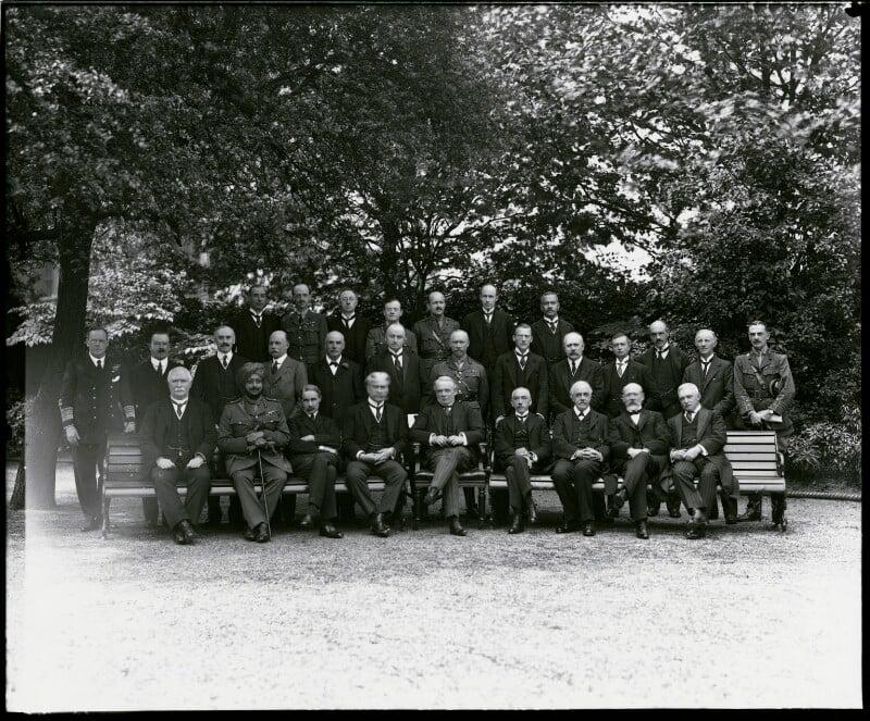 The Imperial War Cabinet, by Vandyk, 25 June 1918 - NPG x130051 - © National Portrait Gallery, London
