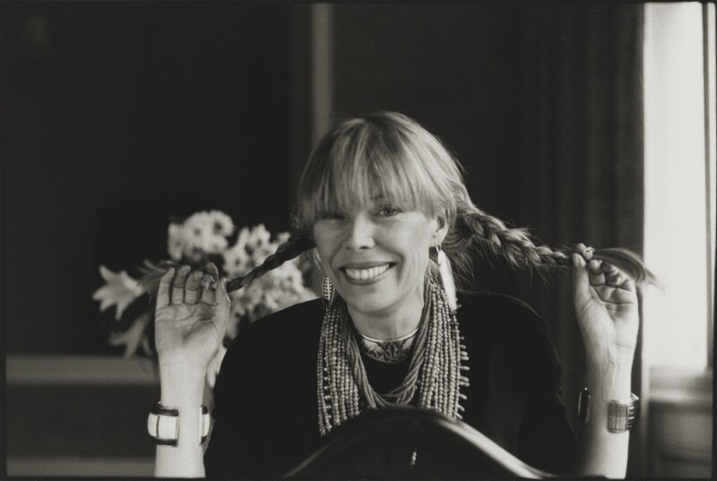 Joni Mitchell, by Laurie Lewis, 24 April 1983 - NPG x200027 - © laurielewis.co.uk