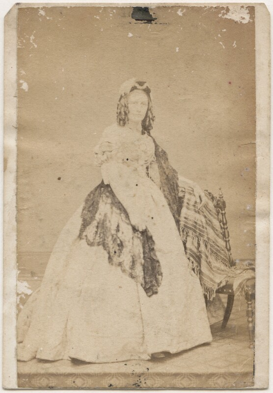 Amelia Elizabeth Guppy, by Unknown photographer, 1860s - NPG x200115 - © National Portrait Gallery, London