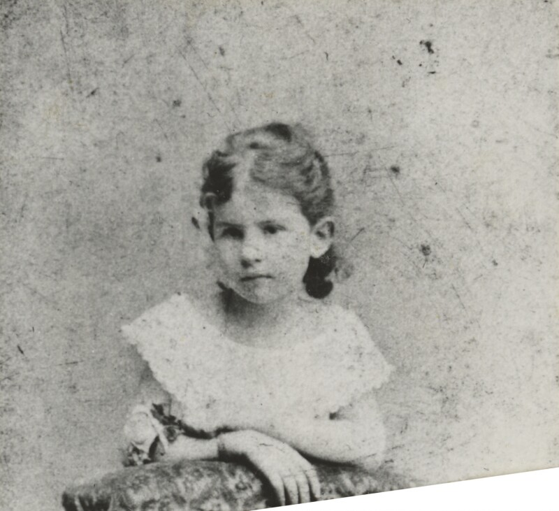 Baroness Catherine d'Erlanger, by Unknown photographer, 1870s - NPG Ax105713 -