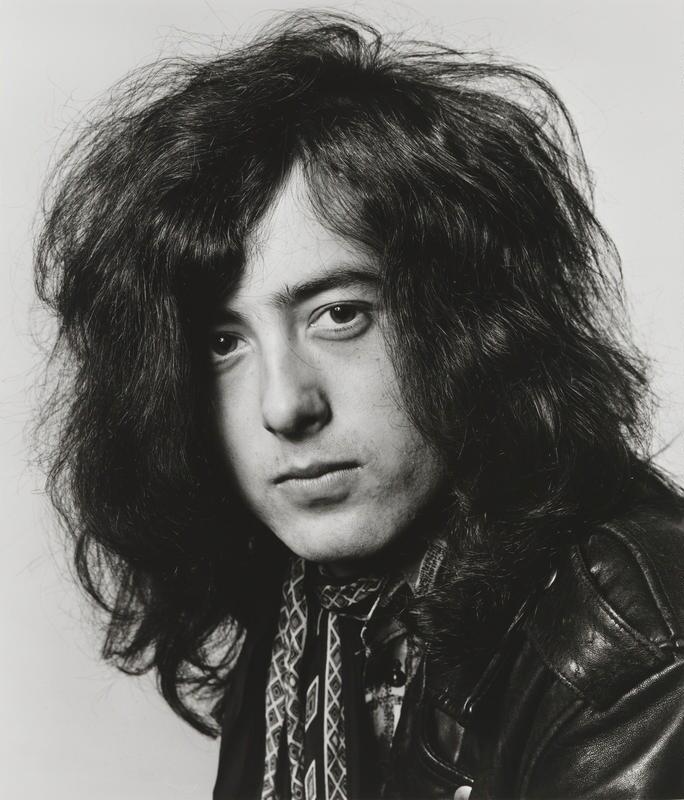 James Patrick ('Jimmy') Page, by Dick Barnatt, 1968 - NPG x200207 - © Dick Barnatt 1968 from the book 'Led Zeppelin' by Led Zeppelin published Reel Art Press