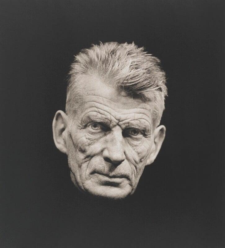 Samuel Beckett, by John Haynes, 1973 - NPG x200698 - © John Haynes
