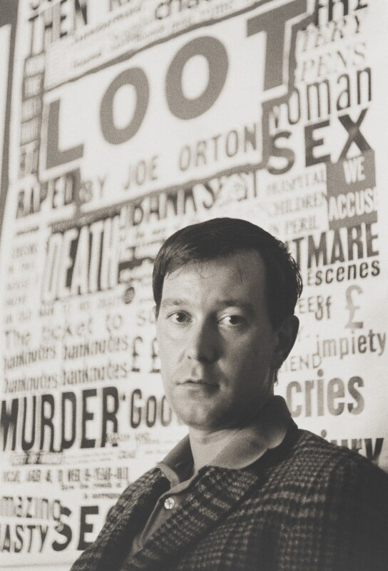 Joe Orton, by John Haynes, 1966 - NPG x200699 - © John Haynes
