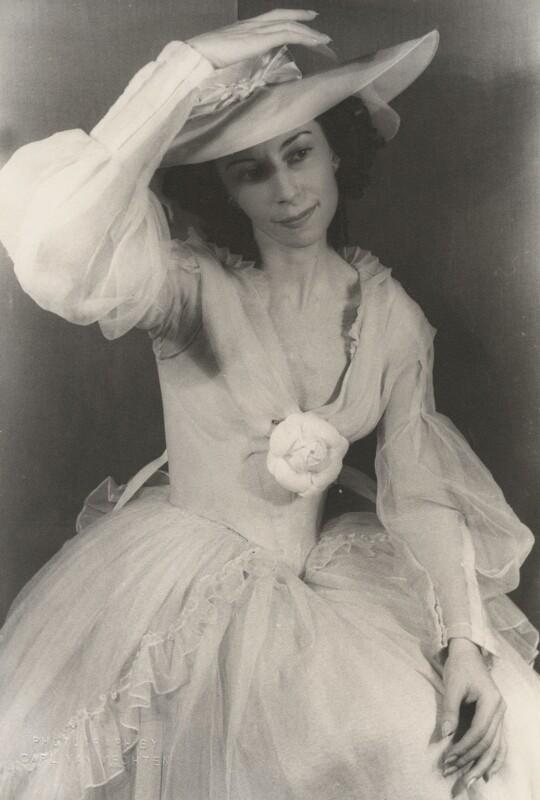 Alicia Markova as 'Camille', by Carl Van Vechten, 22 October 1946 - NPG x194439 - © estate of Carl Van Vechten