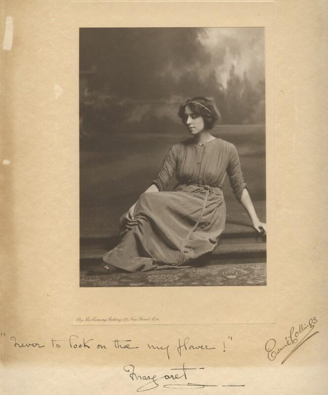 Margaret Morris, by Esmé Collings, circa 1910 - NPG x200810 - © National Portrait Gallery, London